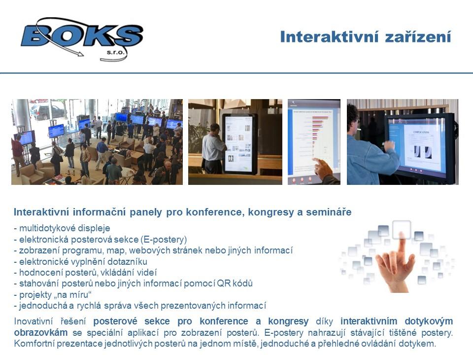 interaktivní zařízení