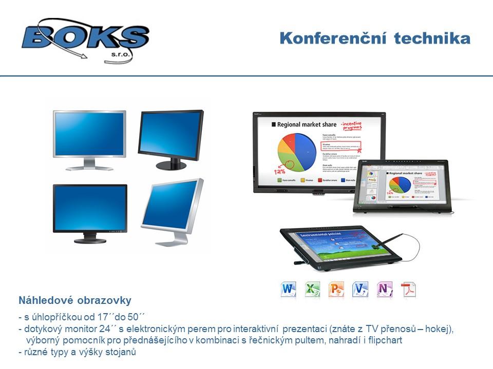 náhledové monitory